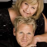 Gordon Ramsay and his mum