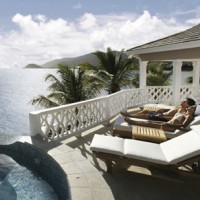 Spa holiday with a man: Curtain Bluff, Caribbean