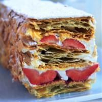 Phil Vickery's Fresh Strawberry Millefeuille