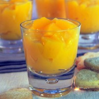 Passion fruit jellies with papaya recipe