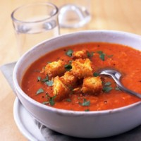 Roasted Squash and Tomato Soup