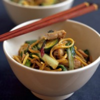 Tuna stir-fry with black bean sauce recipe