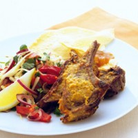 Tandoori lamb with cachumbar recipe