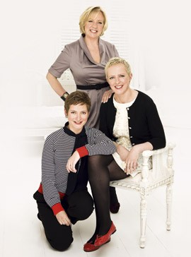 Deborah Meaden and sisters-sisters-lifestyle-celebrity-woman and home