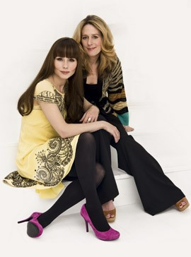 Tara Fitzgerald and sister-sisters-lifestyle-celebrity-woman and home