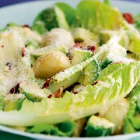 Avocado and Parmesan salad