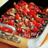 Mediterranean beef casserole recipe