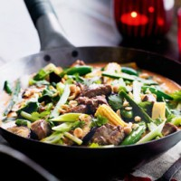 Spicy Thai Lamb Red Curry