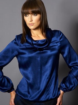 GIVe Roberta Top-blue blouse-fashion-style-woman and home
