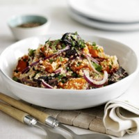 Roast Squash and Beetroot Couscous
