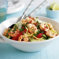 Vietnamese prawn and noodle salad recipe