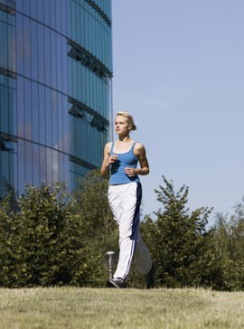 Get Fit Power Walking Plan-Health-Fitness-Walking-Woman and Home