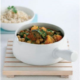 Pumpkin, Chickpea and Aubergine Tagine Recipe-Recipe Ideas-Food-Woman and Home