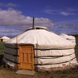 Feather Down Farm yurts-travel ideas-woman and home