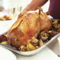 Lemon roasted turkey recipe