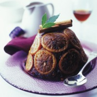 Orange cinnamon Christmas pudding recipe