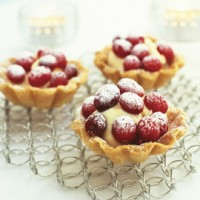 Cranberry tarts recipe