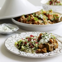 Lamb tagine with jewelled couscous recipe