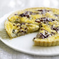 Two-Cheese and Onion Quiche