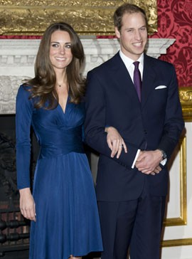 Prince William and Kate Middleton Engagement-Royal Wedding-Celebrity Weddings-Woman and Home