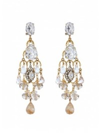 Anton Heunis Grace Kelly Chandelier Earrings
