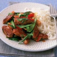 Pork with Ginger and Noodles