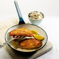 Herby chicken schnitzel recipe