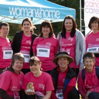 Scone Palace and Perthshire Pink RibbonWalk 2011