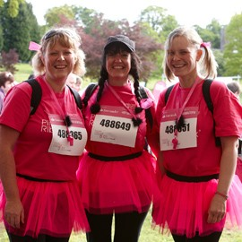 Scone Palace and Perthshire Pink RibbonWalk 2011-Breast Cancer Care-Woman and Home