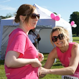 Cholmondeley Castle & Cheshire Pink Ribbonwalk 2011-Breast Cancer Care-Woman and Home