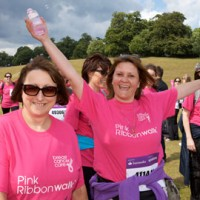 Petworth House &amp; South Downs Pink Ribbonwalk 2011