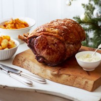 Roast rib of beef with B�arnaise sauce recipe