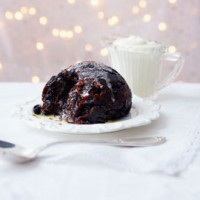 Extra-fruity Christmas pudding recipe