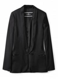By Malene Birger Black Azemina Camelia Wool Jacket