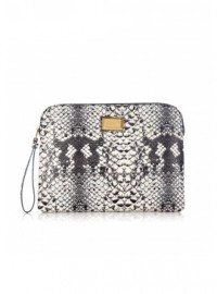 Marc By Marc Jacobs Pale Khaki Tablet Clutch Bag