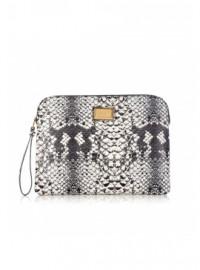 Marc By Marc Jacobs Pale Khaki Tablet Clutch Bag
