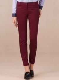 Massimo Dutti Zip Trousers