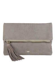 Anya Hindmarch Huxley Clutch in Grey