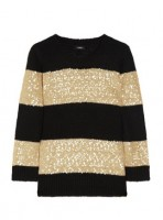 J. Crew Sequin Striped Sweater