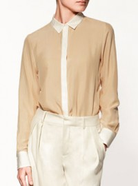 Zara Silk Shirt 