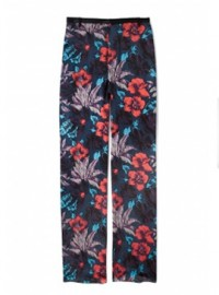 Marc by Marc Jacobs Havana Floral Wide Leg Trousers 