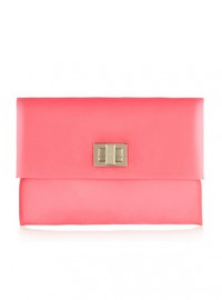 Anya Hindmarch Valorie Matte-Rubber Clutch