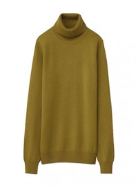 Uniqlo Cashmere Polo Neck Sweater