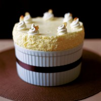 Chilled lemon souffle recipe