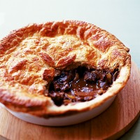 Beef, Mushroom and Smoked Oyster Pie