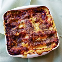Mushroom, Pesto and Spinach Lasagne