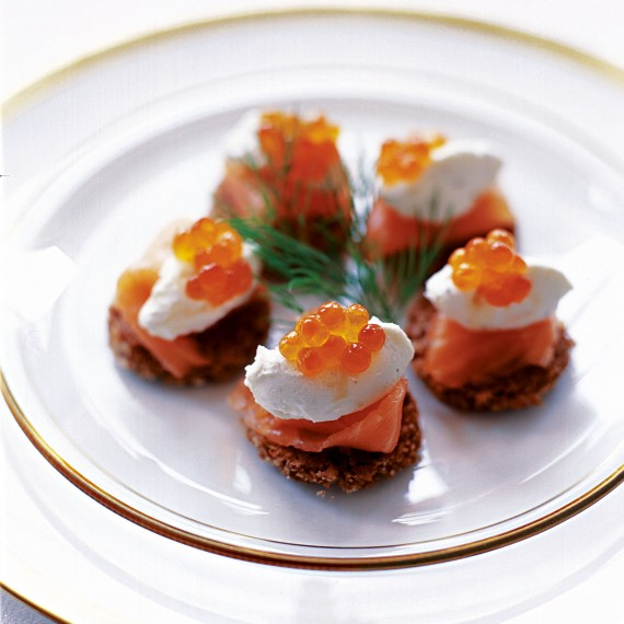 Smoked Salmon on Rye with Caviar Recipe-recipe ideas-new recipes-woman and home