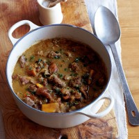 Winter fruity lamb stew recipe