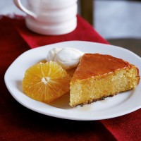 Orange, honey and almond cake recipe