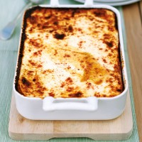 Lighter moussaka recipe